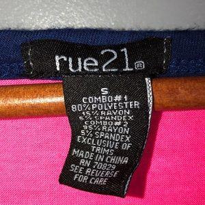 Rue21 Tops - Rue 21 Top.  5/$20